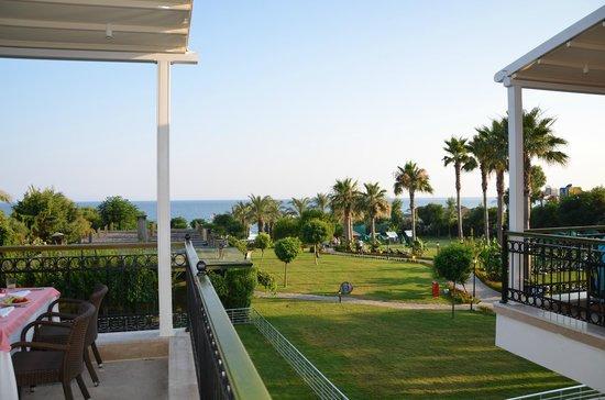Alva Donna Beach Resort Comfort: вид из главного ресторана