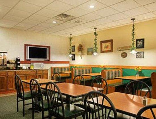 Days Inn Port Jervis: Breakfast Setup