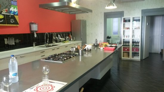 Barcelona Cooking Classes: kitchen