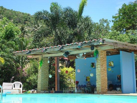 Tropical Garden Lounge Hotel: Swim-up bar