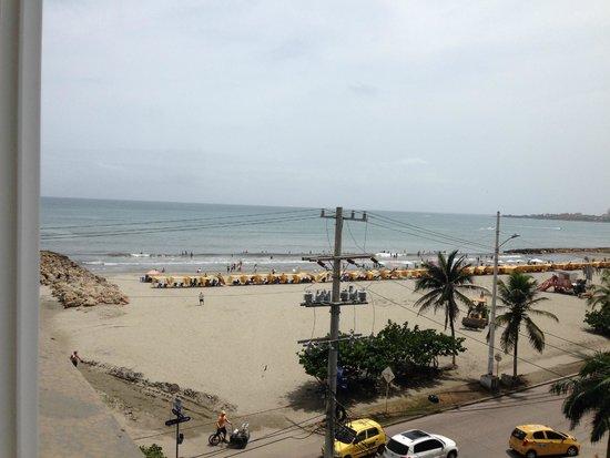 Hotel Cartagena Plaza : Desde la habitacion