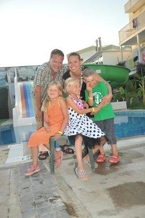 Bodrum Beach Resort: pools and slides