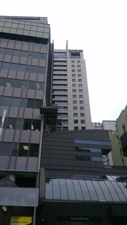 CityLife Auckland: The hotel is set back from the street