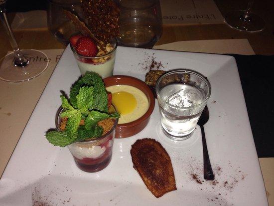 L'Entre Potes : Manzana gourmande ou café gourmand pour les amateurs