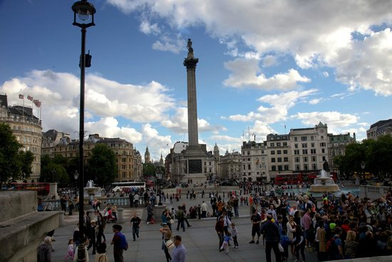 Nelson's Column: From the National Gallery