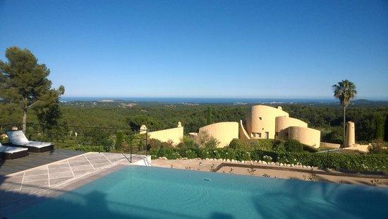 Villa Menuse : superb views