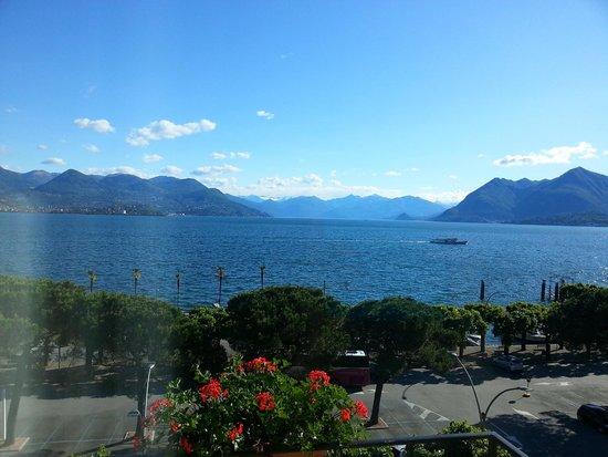 Hotel Milan Speranza Au Lac : вид с балкона