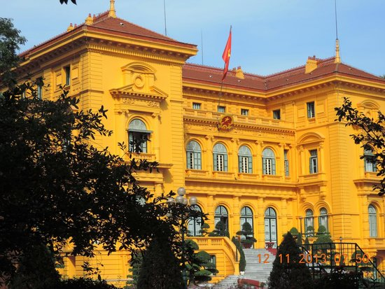 Ho Chi Minh Presidential Palace Historical Site : Presidential Palace