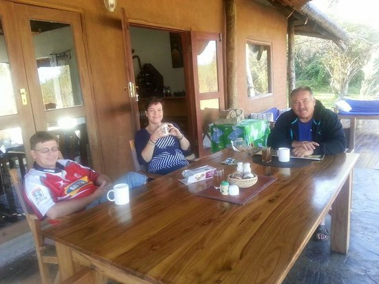 Chundukwa River Lodge: Tea time