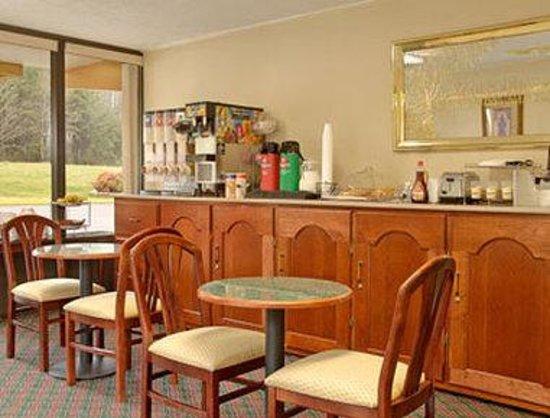 Days Inn Sweetwater : Breakfast Area