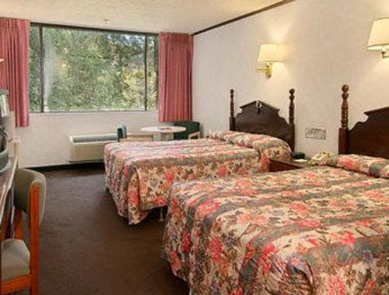 Days Inn Schenectady: Standard Two Double Bed Room