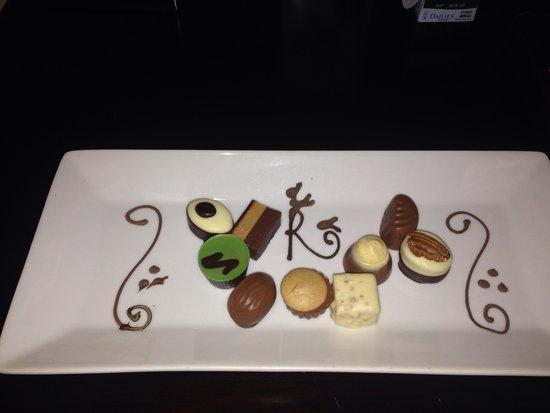 Raithwaite Estate: Chocolates.....amazing!