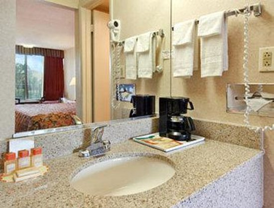 Days Inn Hampton: Bathroom