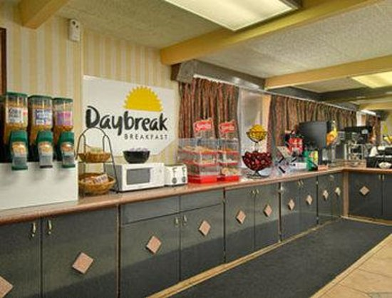 Days Inn Ann Arbor: Breakfast Area