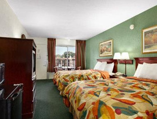 Travelodge Tampa/ West Of Busch Gardens: Standard Two Double Bed Room