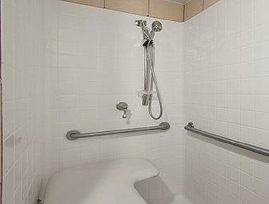 Days Inn Pensacola - Historic Downtown: Accessible Shower