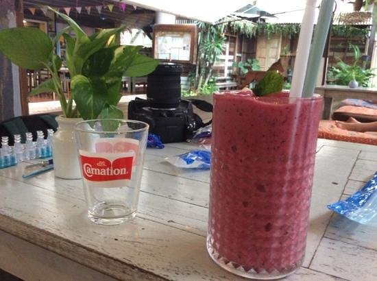 Phranakorn-Nornlen Hotel : de wake me up smoothie ..zooooo lekker