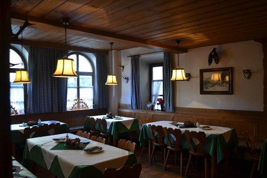 Gasthof zum Rassen: Dining room