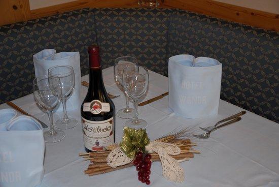 Hotel Wanda: Particolare ristorante