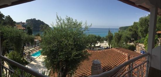 Valtos Beach & Gogozotos Residence: balcony view