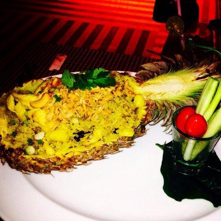 Anantara Sathorn Bangkok Hotel: Mad fra hotellets Resturant, så lækkert