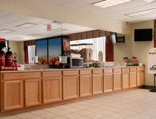 Days Inn Luray Shenandoah: Breakfast Area