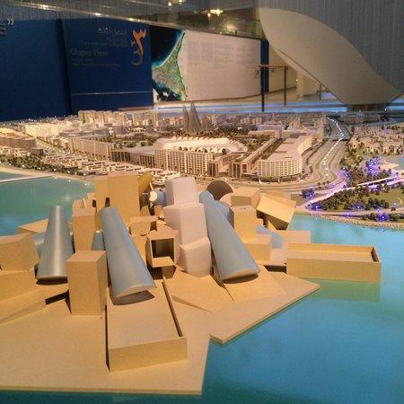 Manarat al Saadiyat : Saadyat Island project.