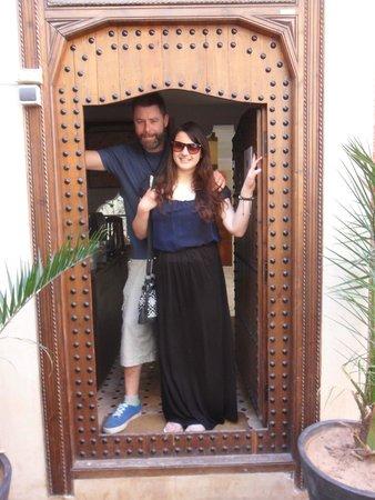Riad Sidi Mimoune : Front door
