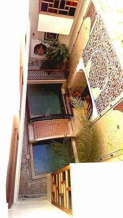 Riad Sidi Mimoune : The dinky pool is nice to dip in