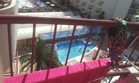 Hotel Rosamar: veiw from room 416