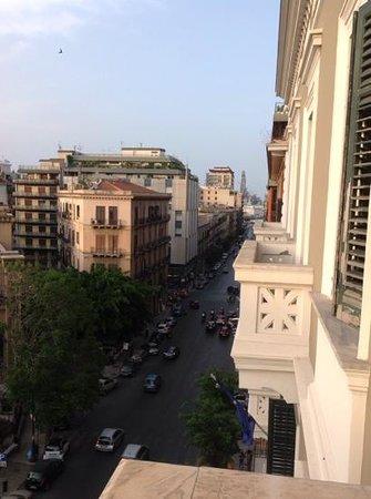 Hotel Garibaldi: utsikt fra balkongen