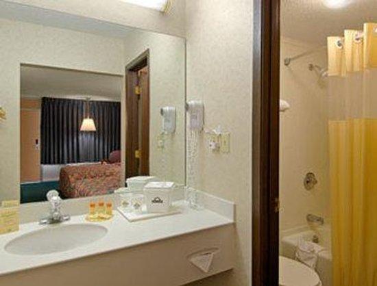 Days Inn Paducah: Bathroom