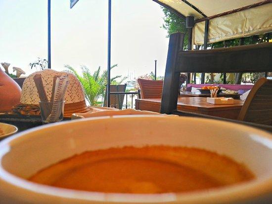 Cafe Inn : Lecker frischer gepresster Kaffee