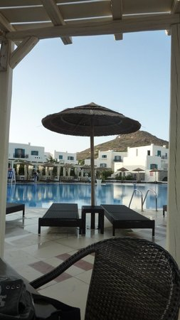 Naxos Imperial Resort & Spa : Ombrellone