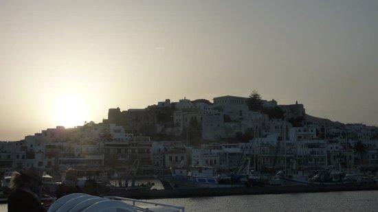 Naxos Imperial Resort & Spa: Chora all'alba