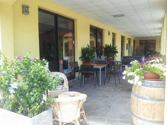 Esterno con piante e fiori - Foto di Il Bistrò - Vino e Cucina ...