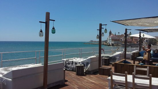 Cot terrasse bar picture of vivero beach club for Cote terrasse