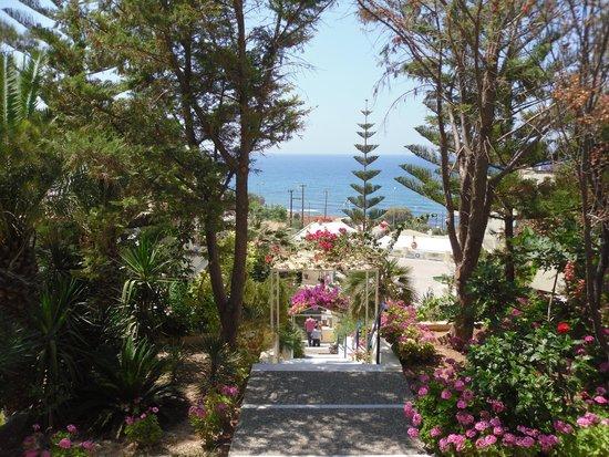 Hotel Rethymnon Mare : jardins