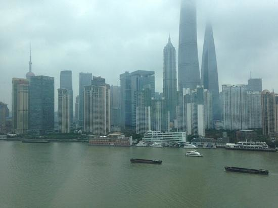 Hotel Indigo Shanghai on the Bund: the view from our room... nbd ;)