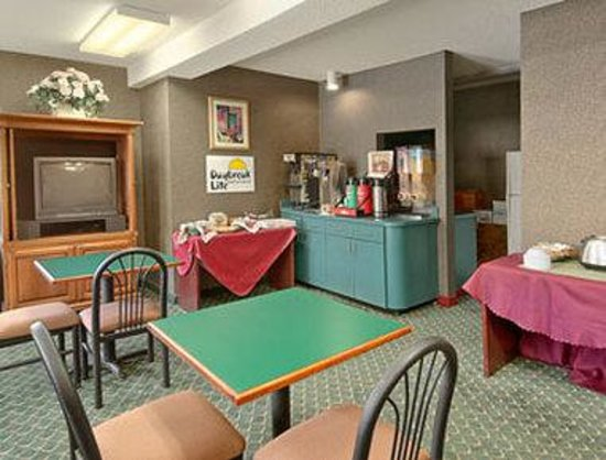 Days Inn North Columbia Ft. Jackson : Breakfast Area