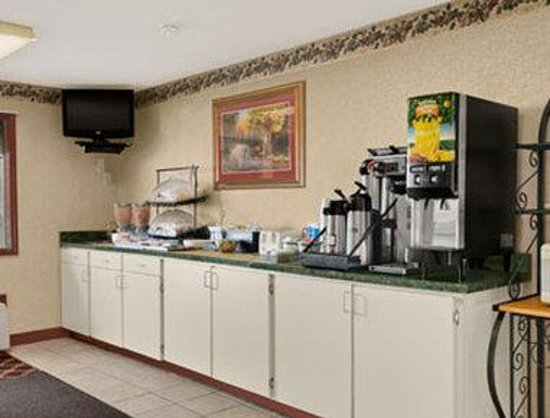 Days Inn Richmond: Breakfast Area