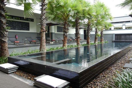 Shinta Mani Club: lap pool, not suitable for kids