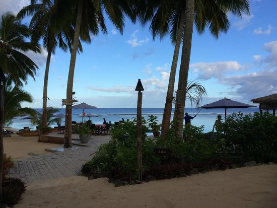 Manuia Beach Resort: from the hammock