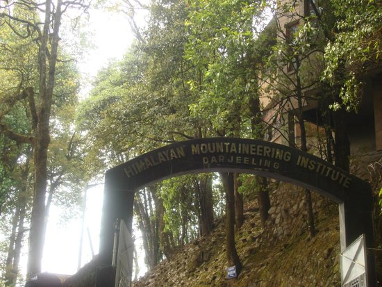 Himalayan Mountaineering Institute : Entrance of HMI