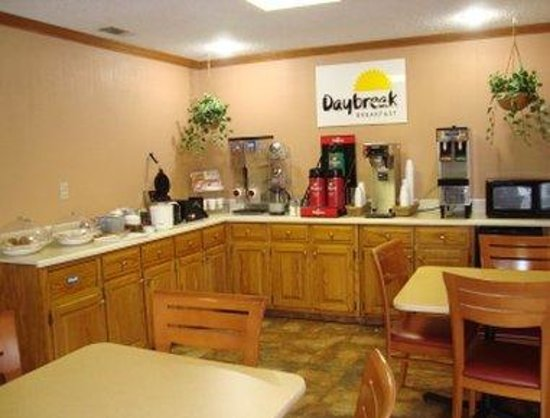 Days Inn Aiken - Interstate Hwy 20: Breakfast Setup