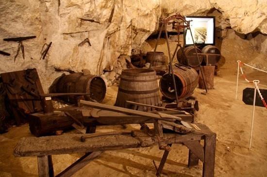 Cave du Pays de Bourgueil: tonneaux