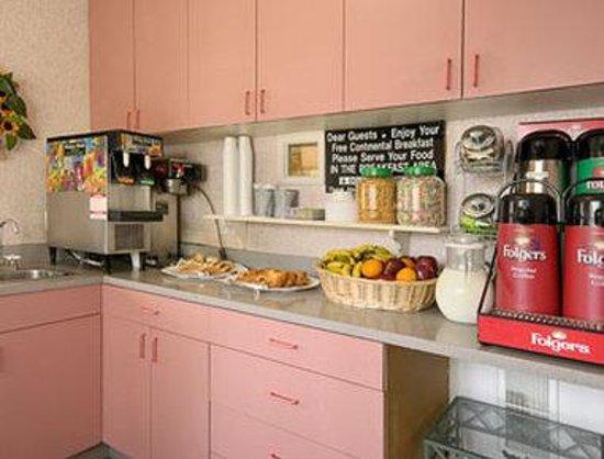 Days Inn Santa Monica/los Angeles : Breakfast Area