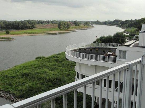 NH Arnhem Rijnhotel : View from the hotel room