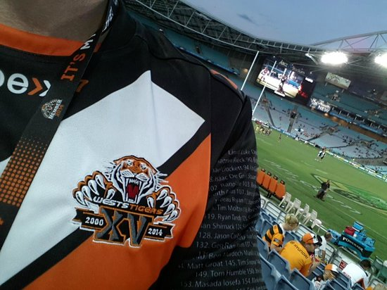 ANZ Stadium : WESTS TIGERS