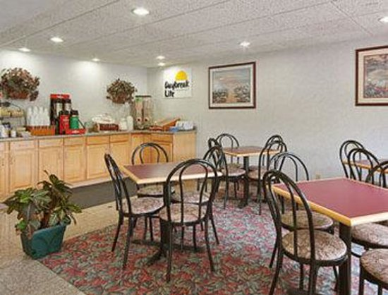 Days Inn Hornell NY: Breakfast Area